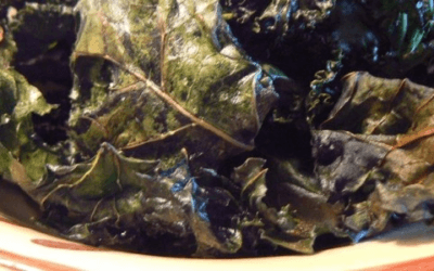 Oven-Baked Kale Chips